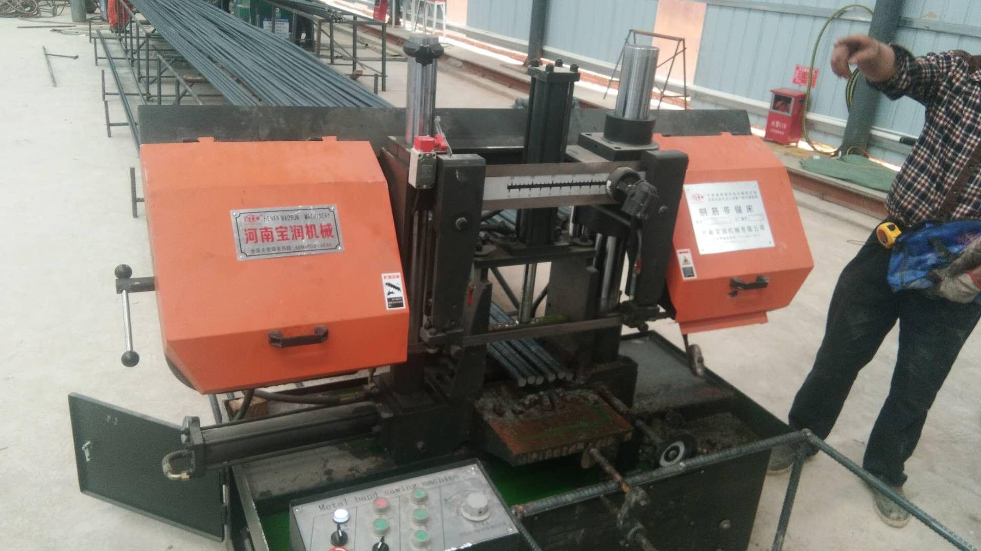 4230金属锯床欢迎进厂参观上饶4230金属锯床