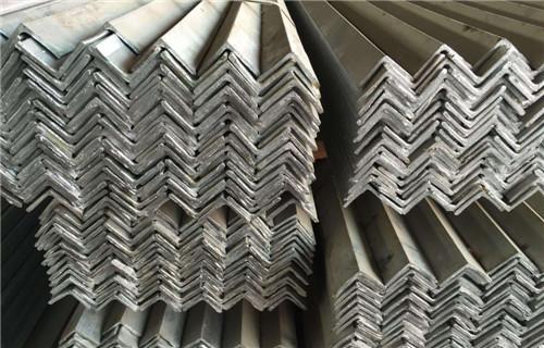 上饶Q355不等边角钢钢材价格厂家现货