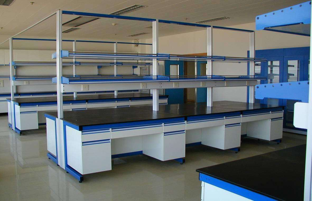 包头实验室操作台厂家钢木实验台价格