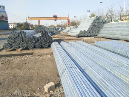 攀枝花Q235B热镀锌焊管厂家直销