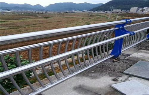 政和河道防撞護欄立柱廠家定做