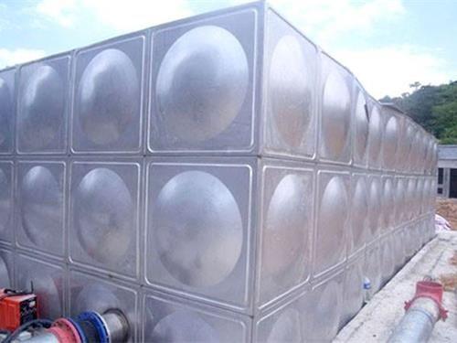 靈璧圓形不銹鋼保溫水箱質優價廉品質保證