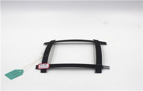 鄢陵GSZ50-50鋼塑土工格柵價格現場圖片